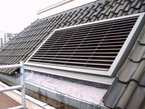 Pitched roofs / roof grille