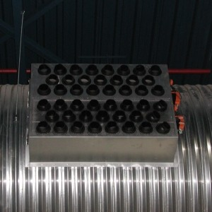 Nozzle grille type SPR-RK with regulation control